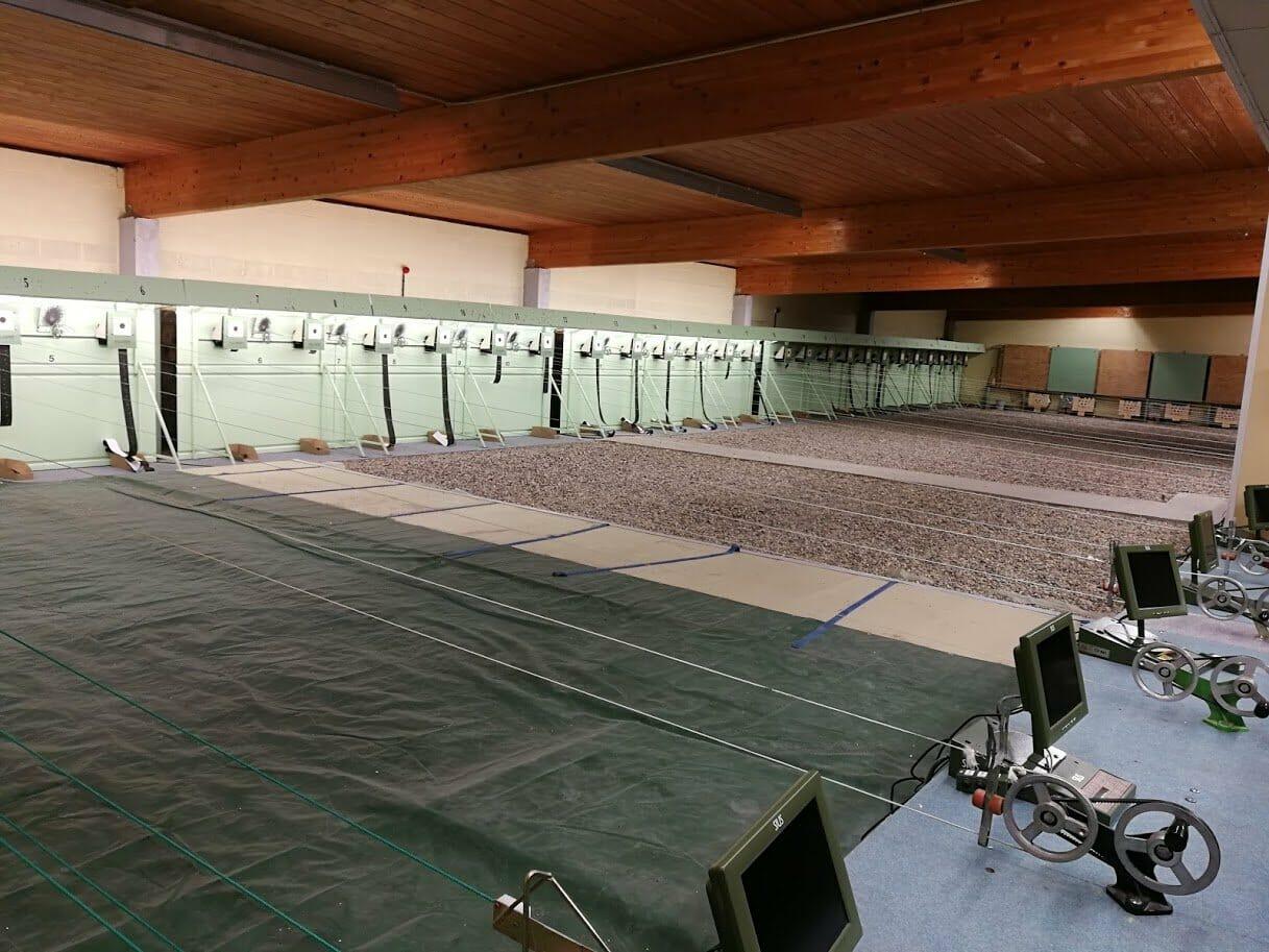 Stand de tir à Creil, France
